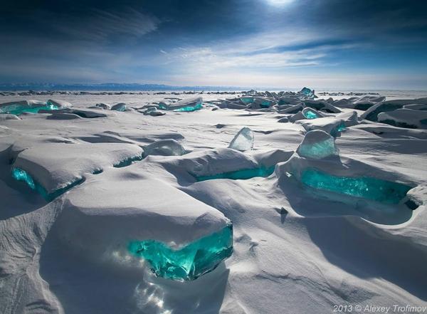 zamraznali ezera rusia