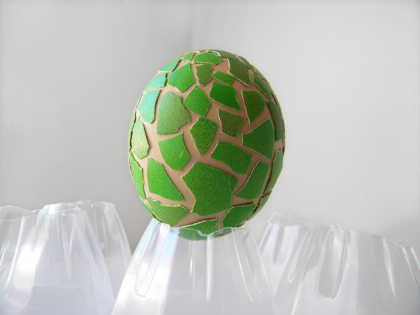 zelena mozaika dekoraciq za velikden