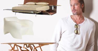 zvezdi obsebeni ot interiorniq dizain Brad Pitt