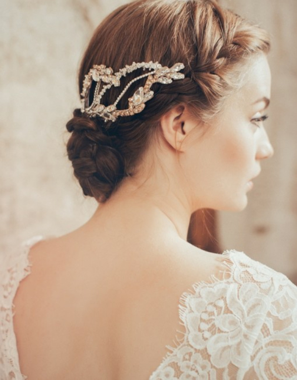 aksesoari kosa bulki kristali perli retro stil