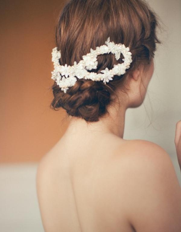 aksesoari kosa bulki retro stil beli perli