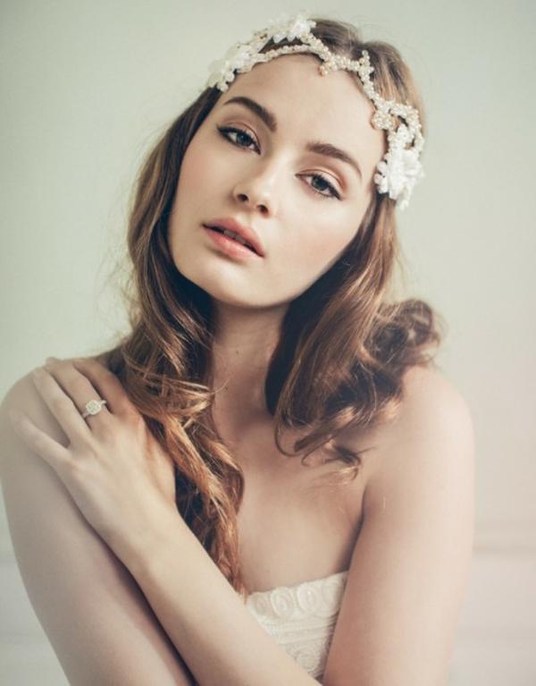 aksesoari za kosa bulki perli beli retro