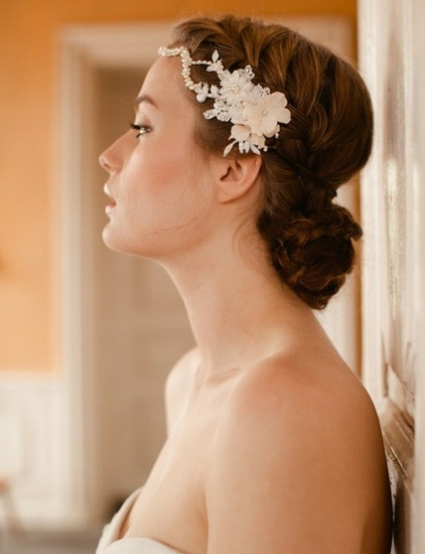 aksesoar za kosa za bulki koprineno cvete