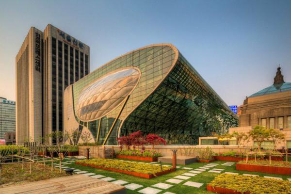 arhitektura moderen stil seul kmetstvo