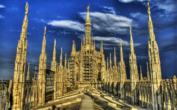 atrakcii milano milanska katedrala duomo