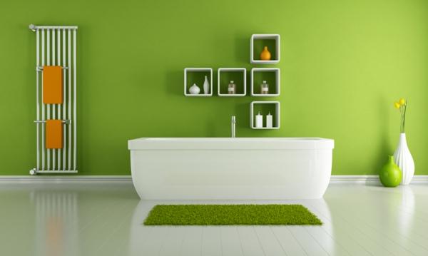banq zeleni steni bqla vana