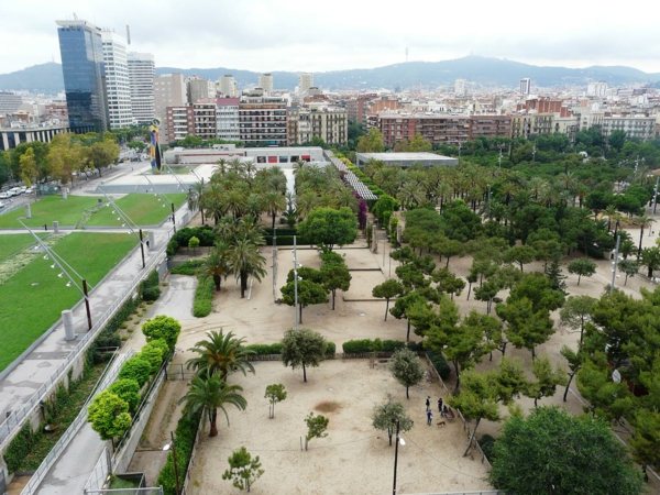 barselona park de la joan miro