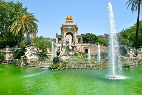 barselona park Parc de la Ciutadella