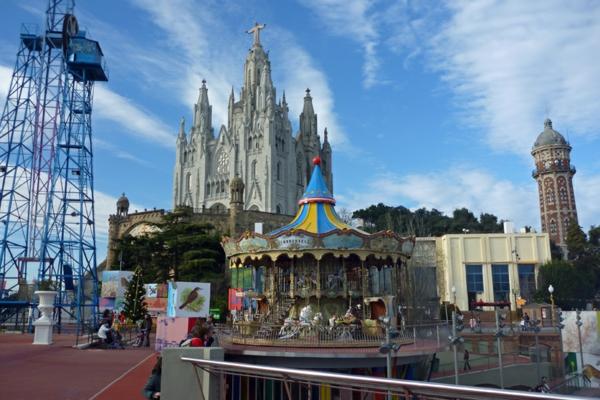 tridabo planina katedrala barselona park kolelo