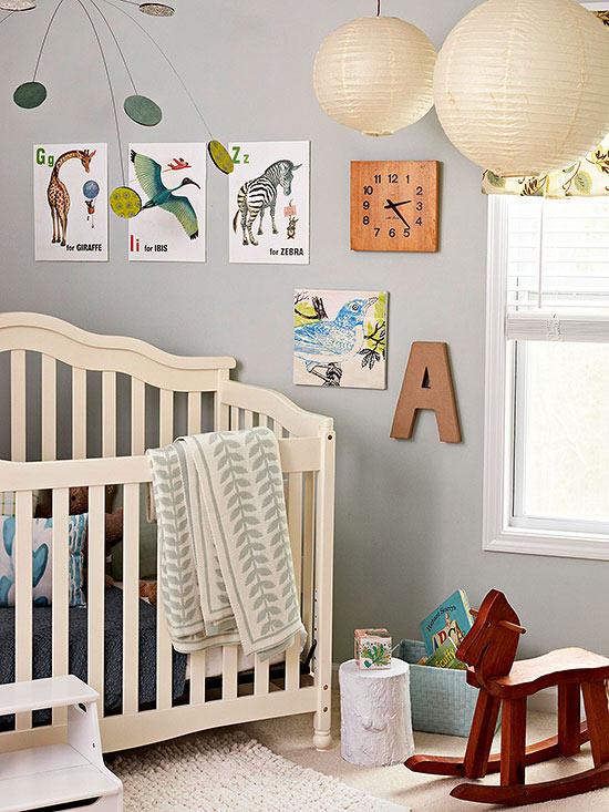 цветове за бебешка стая