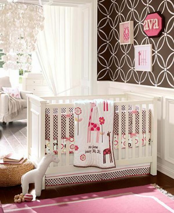 цветове за бебешка стая за момиче