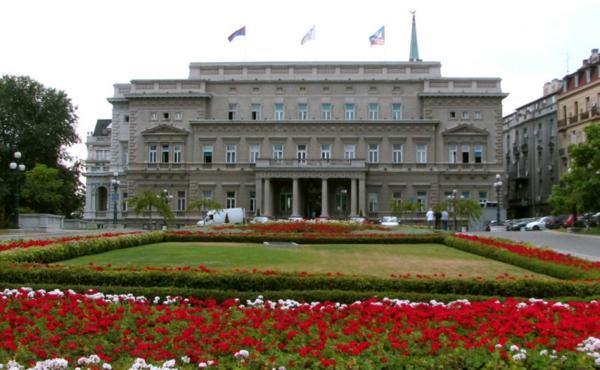 belgrad dvorec gradina