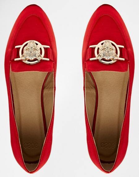 cherveni obuvki niski ejednevni