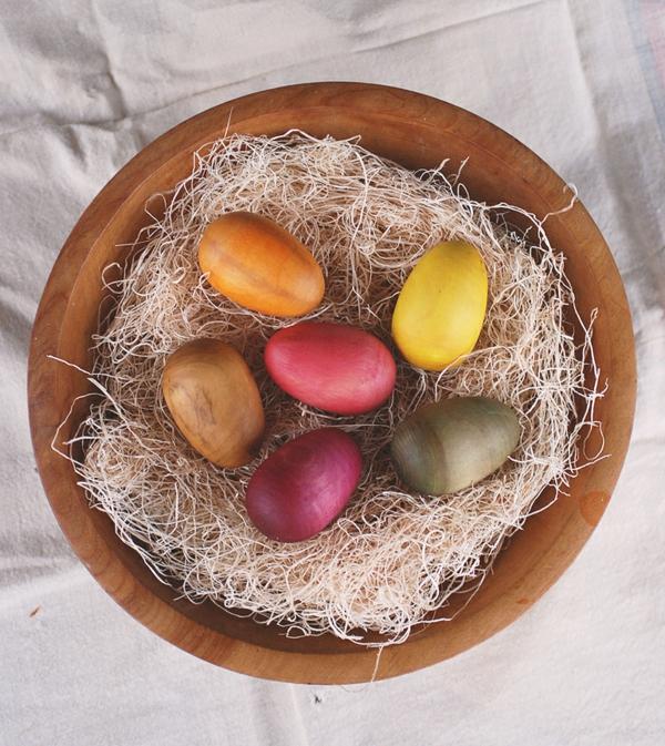 дървени великденски яйца
