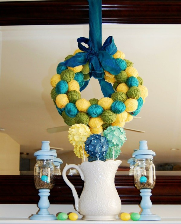 dekoraciq velikdenska za masa qica vaza