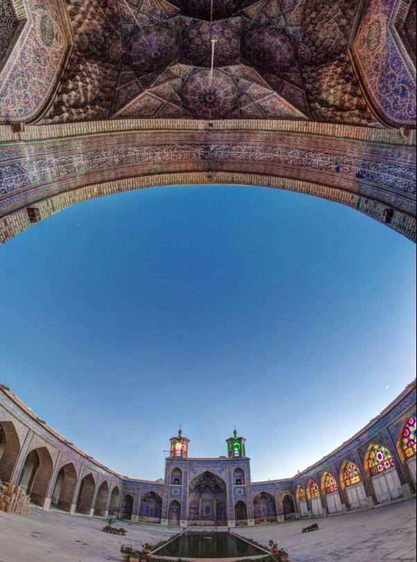 eksterior prozorci djamiq iran Nasir ol-Mulk