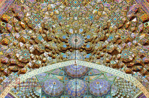 tavan Nasir ol-Mulk iran djamiq relef