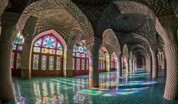 interior djamiq Nasir ol-Mulk iran kuloni