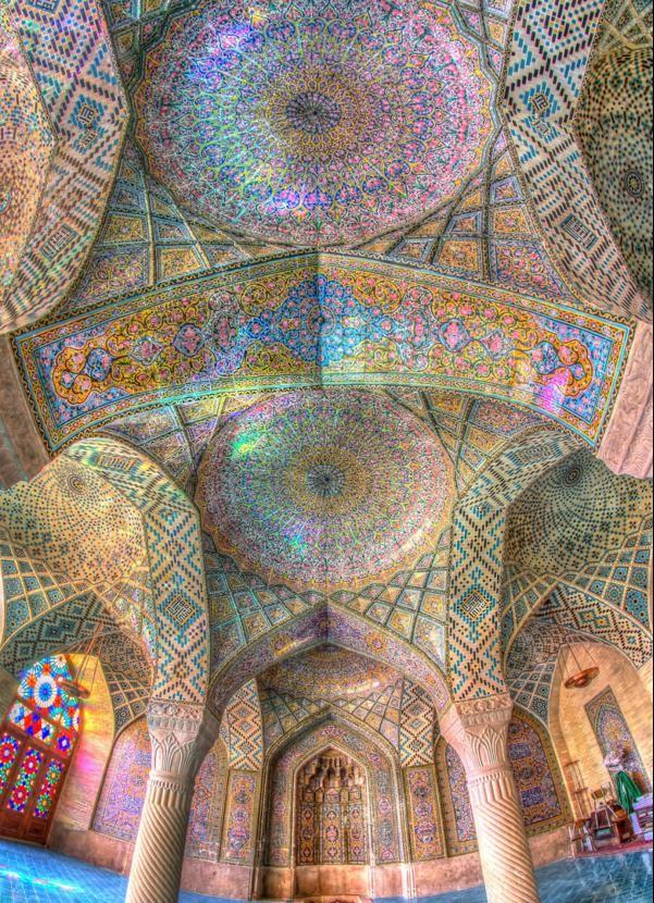 djamiq tavan interior kuloni iran
