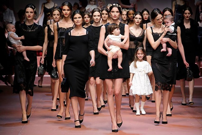 dolce and gabbana esen zima 2015 defile