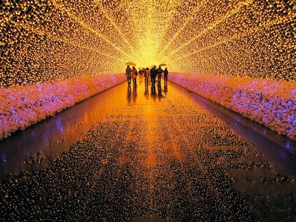 festival svetlini zima qponiq tunel led
