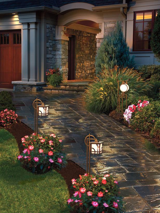 gradina osvetlenie lampi elementi