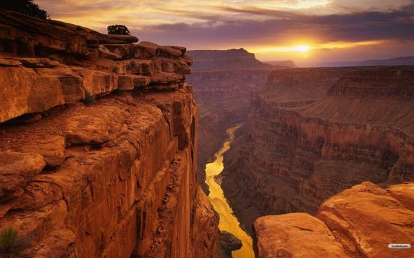 reka kolorado i grand kanion