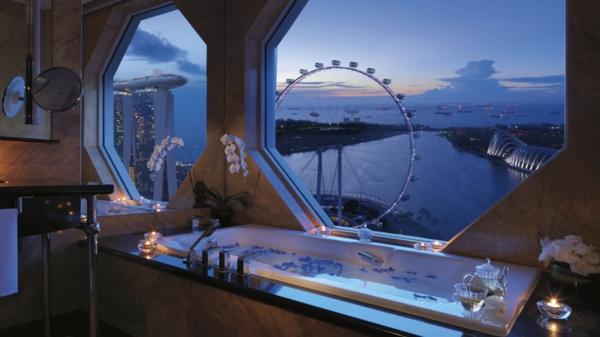 azia hoteli Ritz Carlton singapur vana