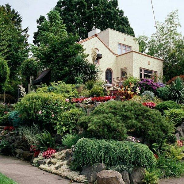градински алпинеум