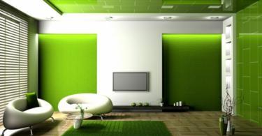 Свежест и спокойствие в хол в зелено