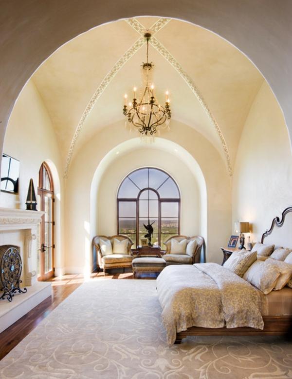 interior spalnq sredizemnomorski stil polilei metal