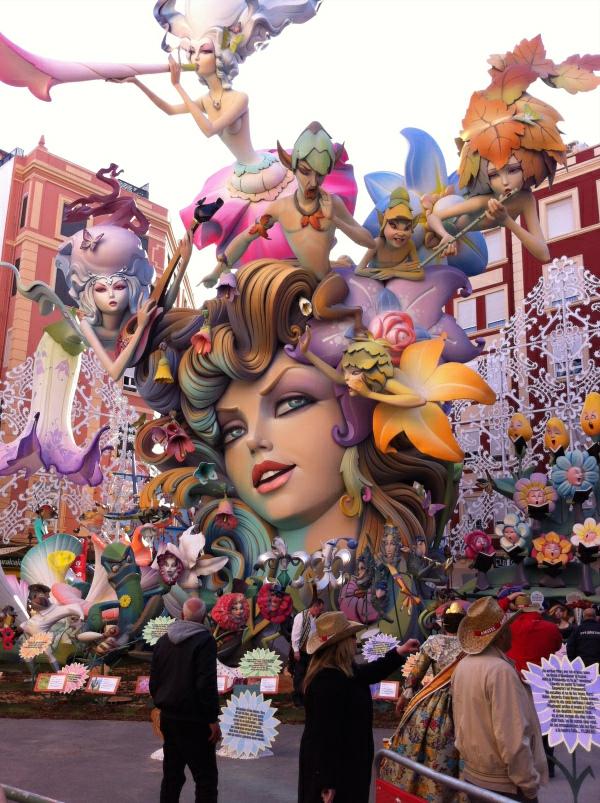 ispaniq valensiq fallas festival