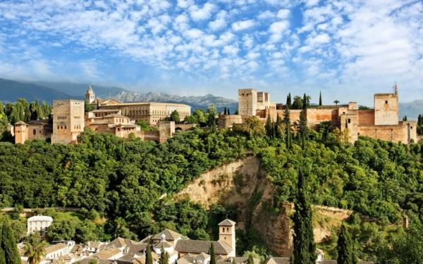 ispaniq granada alhambra dvorec