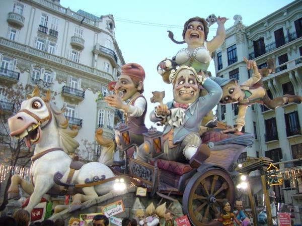 ispaniq veneciq festival fallas