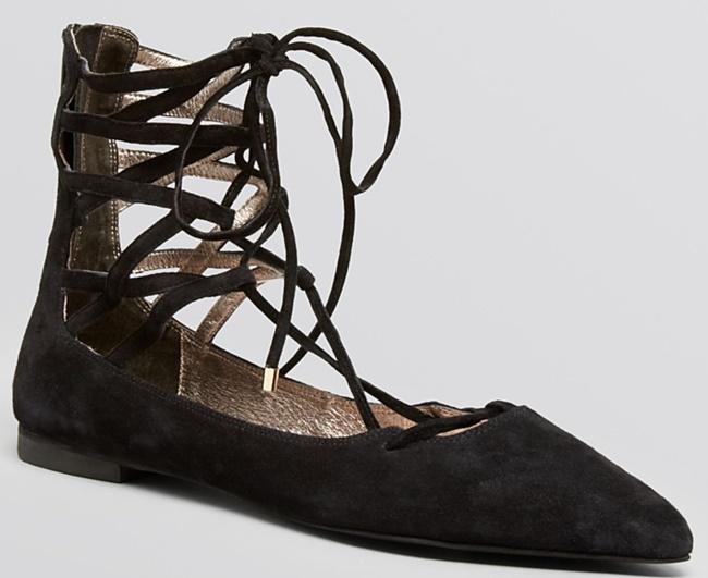 jeffrey campbell obuvki vrazki ravni