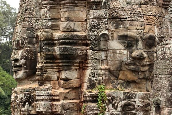 kambodja khmer skulptura kamak