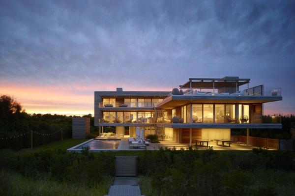 kashta basein moderen stil arhitektura fasada