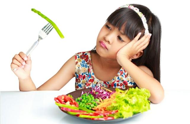 kogato deteto ne iska da se hrani