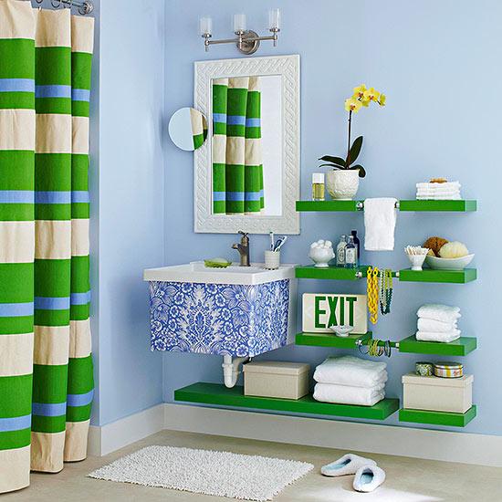 lesni idei za banq napravi si sam zeleno sinio