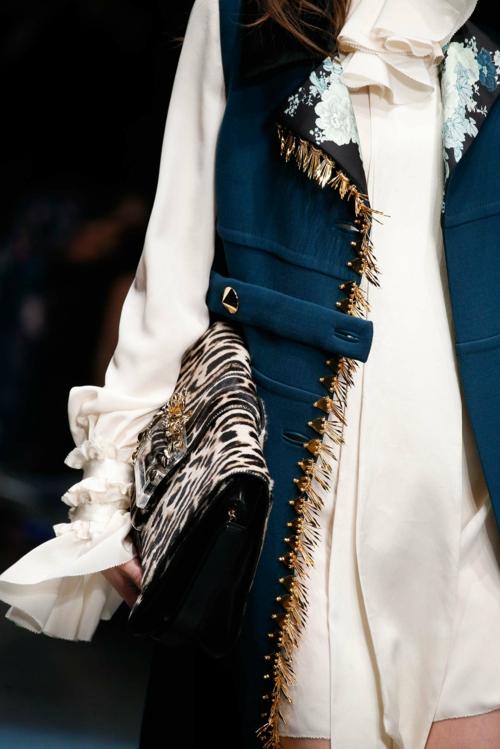 milano modna sedmica esen zima cavalli detail