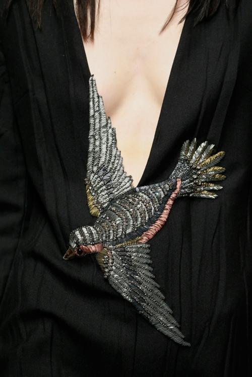 milano modna sedmica esen zima gucci ptichka