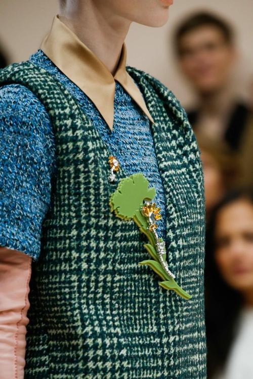 milano modna sedmica esen zima prada cvete 2015