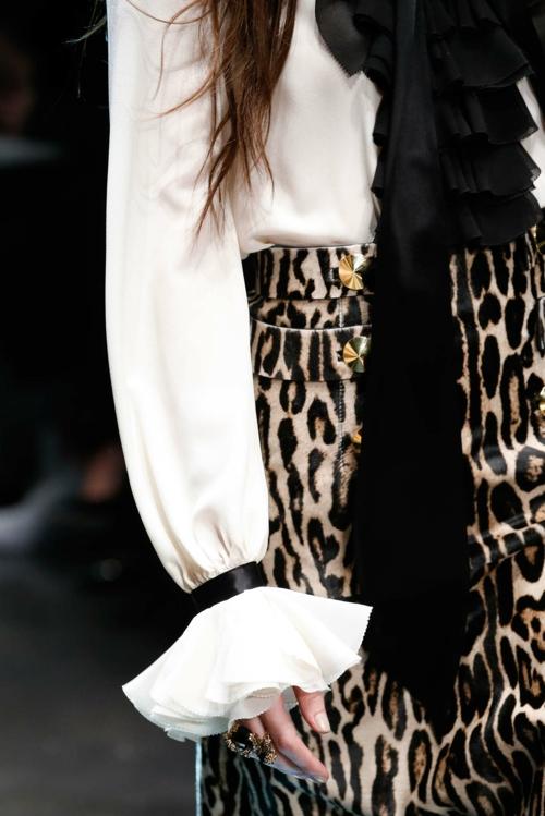 milano modna sedmica esen zima roberto cavalli detail