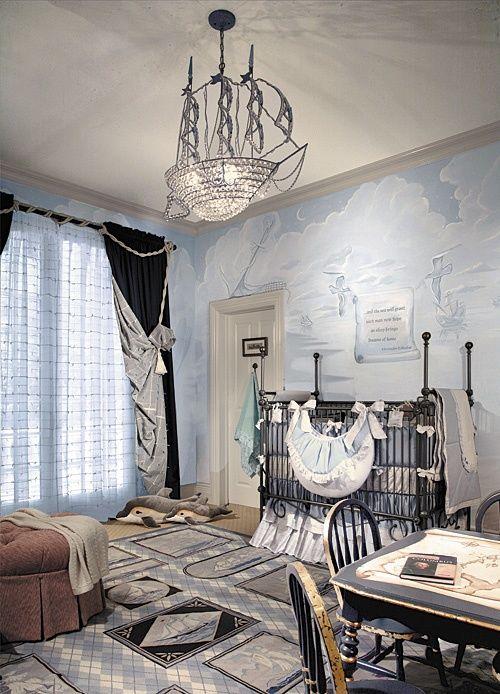 цветове за бебешка стая модерен интериор