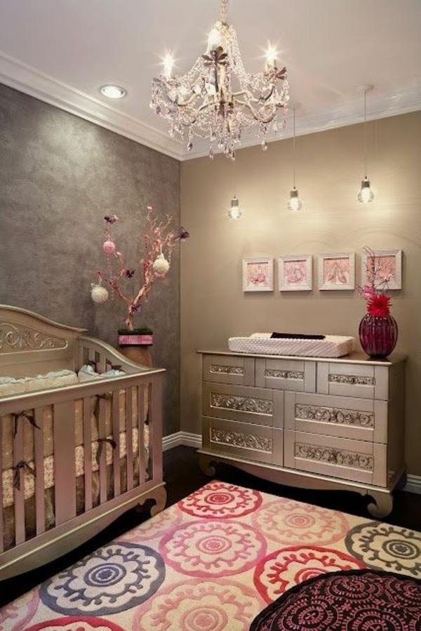 цветове за бебешка стая модерен интериорен дизайн