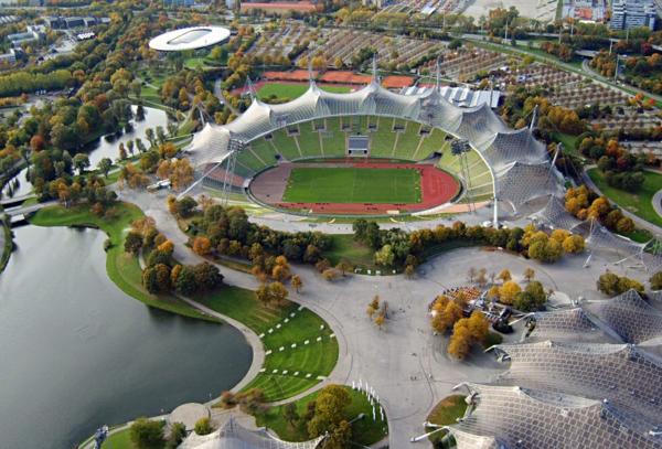 munhen olimpiiski stadion