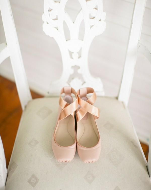 niski obuvki na svatbata balerina bejovi