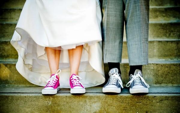 niski obuvki svatba kecove maratonki