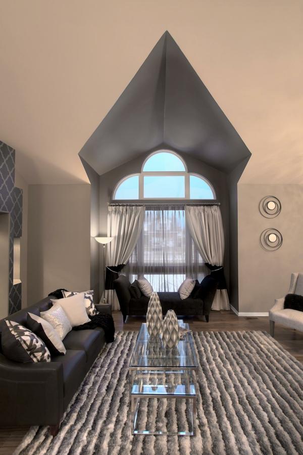 obzavejdane na hol cheren divan siv kilim