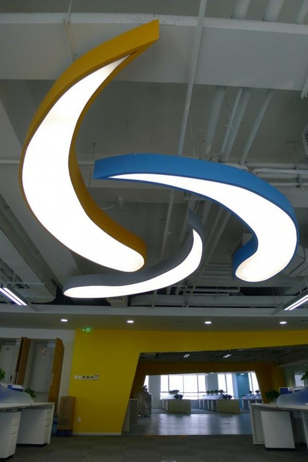 lampi ofis tavan biura interior